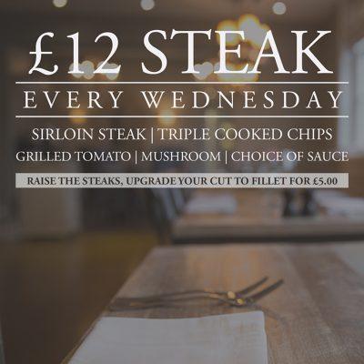 steak wednesday townhouse